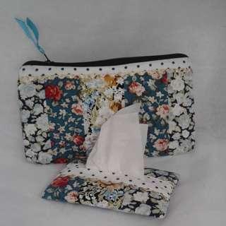 Pencil case + tissue holder