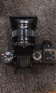 Fujifilm 16mm f/1.4 with metal hood