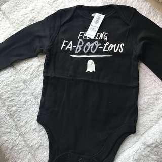 🚚 BN Old Navy Feeling Faboolicious Long Sleeves Bodysuit 12-18mths! Halloween Special!
