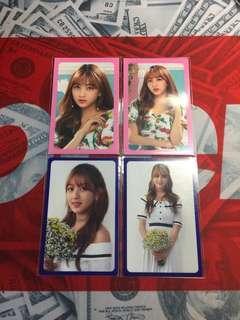 Twice Jihyo小卡