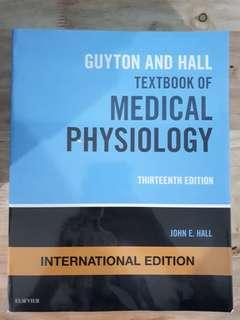 Guyton & Hall textbook of Medical physiology 13th ed