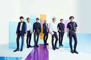 BTS FAKE LOVE/AIRPLANE PT.2 JAPANESE ALBUM