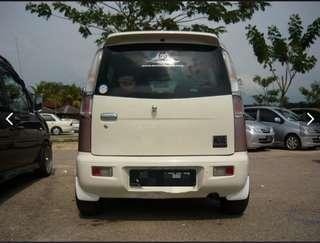 Daihatsu move L9 kenari bumper belakang casual