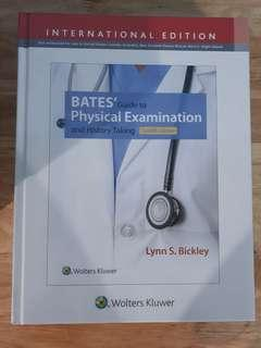 Bates guide to Physical examination and history 12th ed