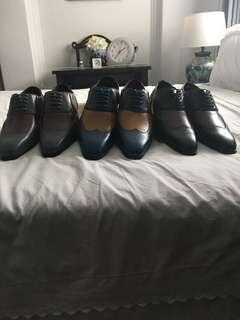 3 pairs smart shoes @$50!