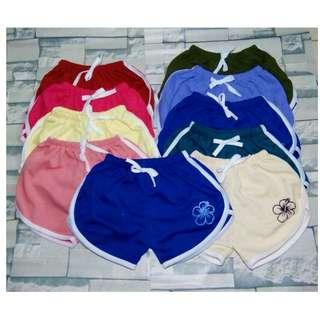Set of 4 - Dolphin Shorts for kids