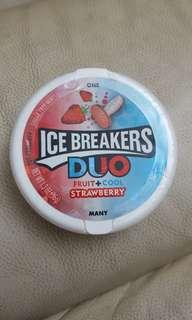 美國直送 Ice Breakers Duo Fruit+Cool (Strawberry+Mint) 糖