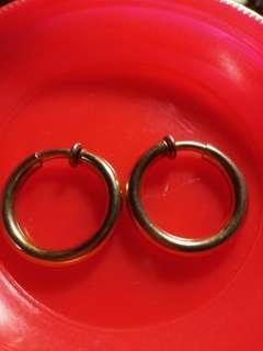 🚚 ✨古典夾式耳環 圓形夾式