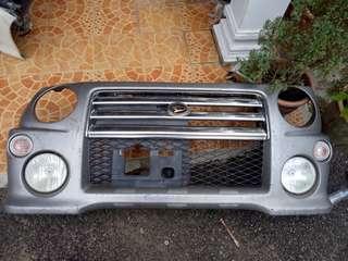Daihatsu Move L9 Kenari bumper depan RS