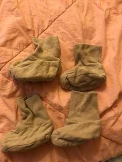 嬰兒保暖襪 2對
