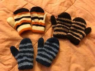 嬰幼兒保暖手襪 全新 /$10一對