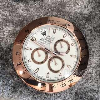 🚚 Rolex Wall Clock - Rose Gold Daytona