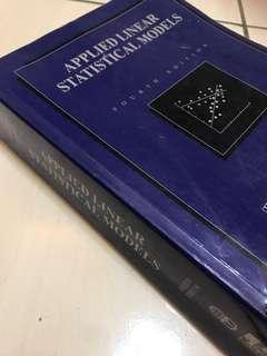 線性應用統計學-Applied Liner Statistical models