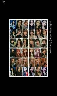 LF Gfriend Time For The Moon Night SINB PHOTOCARD
