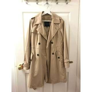 Size 2/S Talbot Classic Trench Coat with removable inner vest
