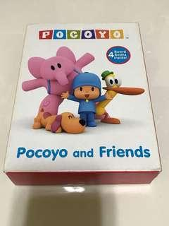 Preloved Pocoyo and Friends Board Books (Set of 4)