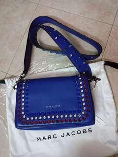 Marc Jacobs Studded Guitar Strap Crossbody