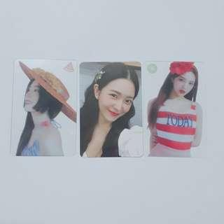 Red Velvet Summer Magic ♡ Limited Edition Official Photocard