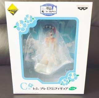 Rem Re Zero Prize C Ichiban Kuji Banpresto Ram Emilia Beatice