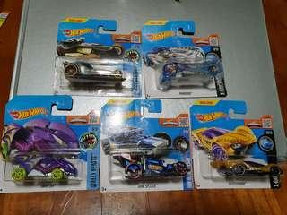 Offer! 5x Hot Wheel car