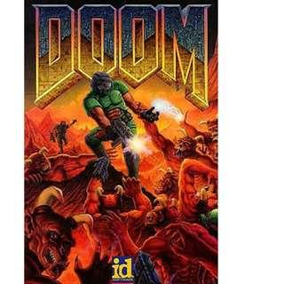 Doom Playstation 1 ps1 game