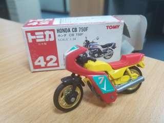 TOMICA TOMY No.42 HONDA CB 750F 日本製