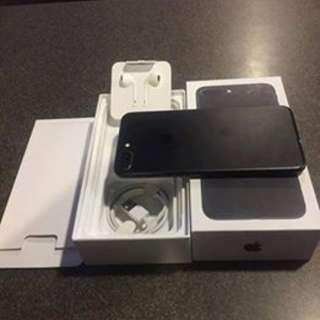 iPhone 7plus matteblack 32gb