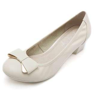 🚚 Beige Elegant Heel