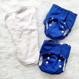 KaWaii Baby Cloth Diapers - Blue