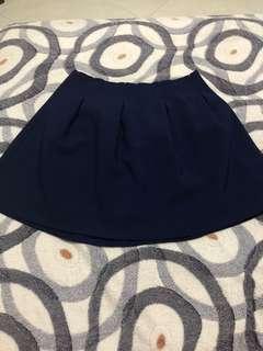 Skater Skirt blue