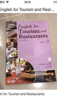 🚚 English for tourism and restaurant#換你當學霸