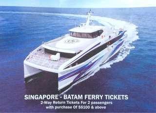 SINGAPORE BATAM FERRY TICKET