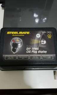 Steelmate TP-70 DIY TPMS CIG PLUG DISPLAY