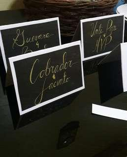 CUSTOMIZE HAND WRITTEN LETTERING (for all occasion)