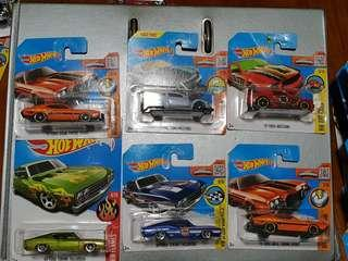 3x Hot Wheel Car