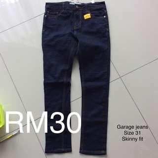 Garage jeans super skinny fit w31