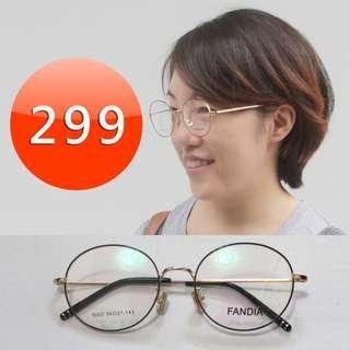 @文青復古眼鏡框平光鏡架 A0003 by 阿瑋店鋪