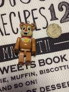 經典 懷舊 扭蛋食玩 絕版 迪士尼 大鼻與鋼牙Chip n Dale 積木 造型 Lego 手腳可郁動 吊色 擺件  絕對珍藏 稀有