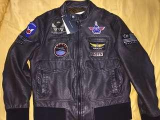 Zara Man Top Gun Bomber Jacket Preloved