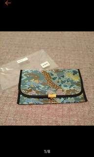 🚚 全新 日本 京都 西陣織 小包 錢包 護照包 萬用包