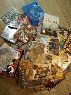 Bunch of DVDs / CDs