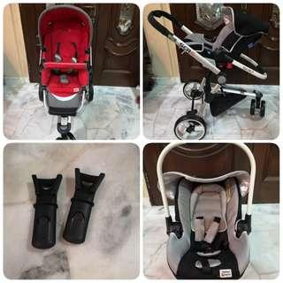 Stroller SCR6 with Carseat Carrier