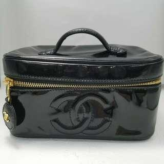 AUTHENTIC CHANEL VANITY IN PATENT LEATHER - [PREORDER ITEM]