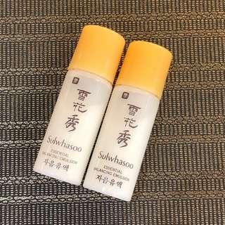 🇰🇷 Sulwhasoo Essential Balancing Emulsion 雪花秀 滋陰乳液