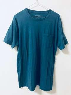 Fourskin Teal Blue Green T-Shirt