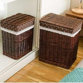 Newly Arrived !!! Country Style Rattan Laundry Basket