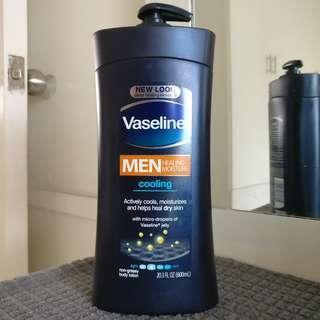 Vaseline Men Cooling Body Lotion 600ml