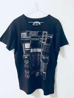 Cotton On Grey Graphic T-shirt