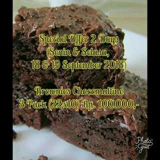 Brownies Chocomaltine Special Offer 3 Pack 100Rb!!!
