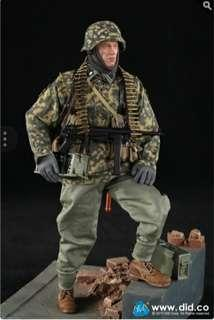 BALDRIC 3RD SS-PANZER-DIVISION MG34 GUNNER VER.B 1/6 SCALE COLLECTABLE FIGURE